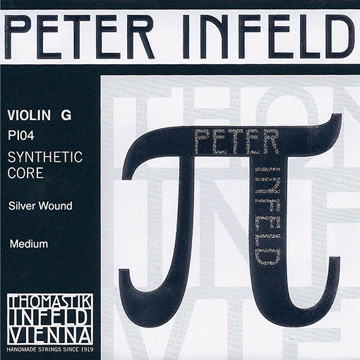 Thomastik-Infeld PETER INFELD violin G string, silver wound, by Thomastik-Infeld