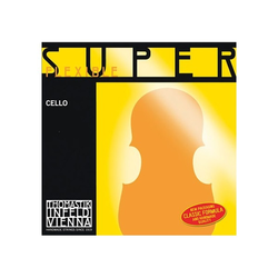 Thomastik-Infeld SUPERFLEXIBLE chrome cello string set, medium, by Thomastik-Infeld