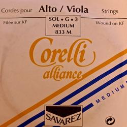 Corelli Savarez Corelli Alliance viola G string, medium