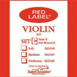 Super-Sensitive Red Label violin set 4/4