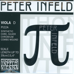 Thomastik-Infeld PETER INFELD viola D string, chrome combo wound, by Thomastik-Infeld