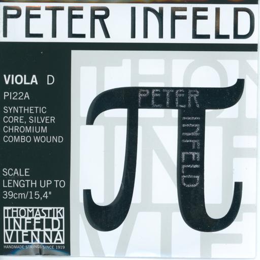 Thomastik-Infeld PETER INFELD viola D string, chrome combo wound, by Thomastik-Infeld