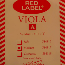 Super-Sensitive Red Label viola A string