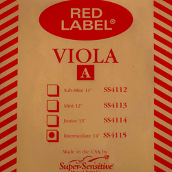Super-Sensitive Red Label viola A 14""