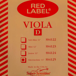 Super-Sensitive Red Label viola D 14""