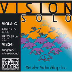Thomastik-Infeld VISION SOLO viola C string, tungsten-silver wound, by Thomastik-Infeld