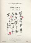 Duvillier-Wable L.: Sonata II for Violin & Cello