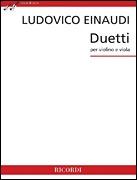 HAL LEONARD Einaudi: Duetti (viola, violin) RICORDI