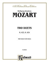 Alfred Music Mozart, W.A.: Two Duets K423-4 for Violin & Viola