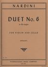 International Music Company Nardini, Pietro: Duo No 6 in Bb Major (violin & cello)
