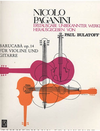 Paganini, Nicolo (Bulatoff): Barucaba Etudes, Op. 14  Vol.1 (violin & guitar)