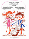 HAL LEONARD Pejtsik, Arpad: Duos for Violin and Violoncello for Beginners, Edito Musica Budapest