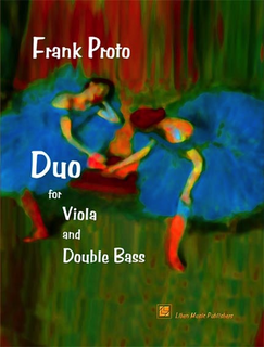 Liben Publications Proto, F.: Duo (Viola & Double Bass)