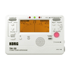 Korg Korg TM-60 Chromatic Tuner Metronome Combo, pearl white