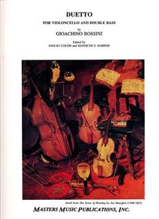 LudwigMasters Rossini, Gioachino (Colon): Duetto (cello & bass)