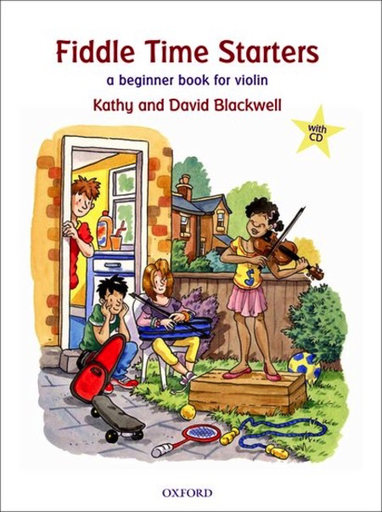Oxford University Press Blackwell, K.& D.: Fiddle Time Starters (violin and CD)