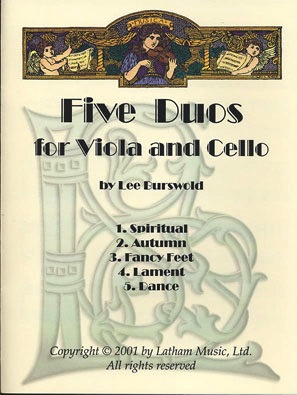 LudwigMasters Burswold, Lee: Five Duos for Viola and Cello