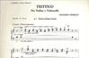 Carl Fischer Chailly, Luciano: Trittico for Violin & Cello