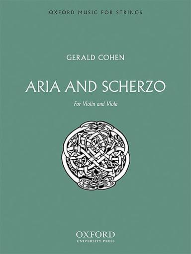 *out of print* Cohen, Gerald: Aria & Scherzo (violin & viola)