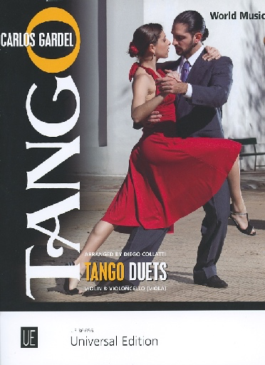 Carl Fischer Gardel (Collatti): Tango Duets (violin & cello/viola) Universal Edition