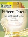 Latham: 15 Duets (violin & viola)