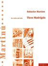 HAL LEONARD Martinu, Bohuslav: Three Madrigals (Violin & Viola)