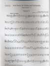 Paxton, Stephen: Eight Duets for Violin and Cello Book 2 (#5-8)