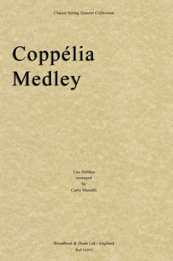 Delibes, Leo (Martelli): Coppelia Medley (string quartet)