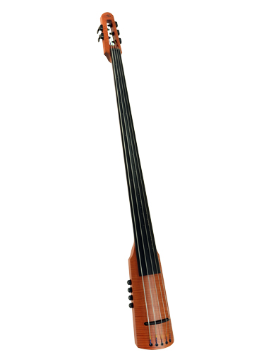 NS Design NS Design CR5T electric 5-string upright bass with amber finish
