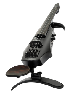 NS Design NS Design NXT4 Satin Black 4-string electric violin with case. Czech Republic