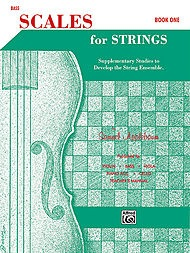 Alfred Music Applebaum, S.: Scales for Strings Bk.1 (bass)