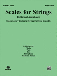 Alfred Music Applebaum, S.: Scales for Strings Bk.2 (bass)
