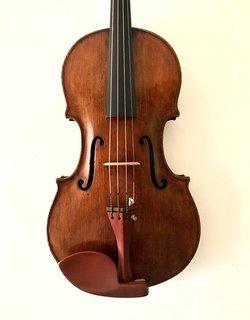 "English George Craske 16 3/4"" viola, 1868, London, ENGLAND"