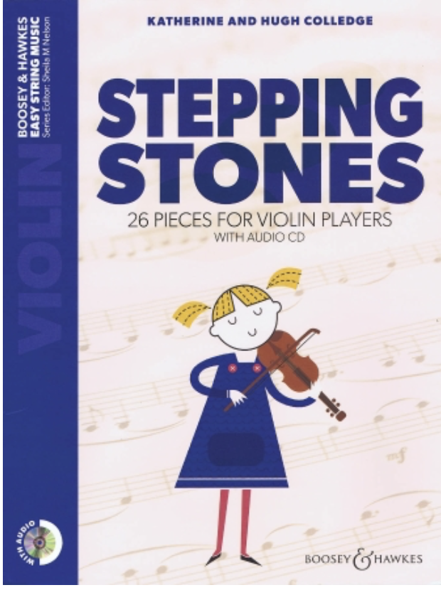 HAL LEONARD Colledge: Stepping Stones 26 Pieces for Violin Players (violin & audio))