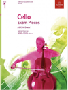 C.F. Peters ABRSM: Cello Exam Pieces 2020-2023 Grade 1 (cello)