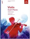 C.F. Peters ABRSM: Violin Exam Pieces 2020-2023 Grade 1 (violin)