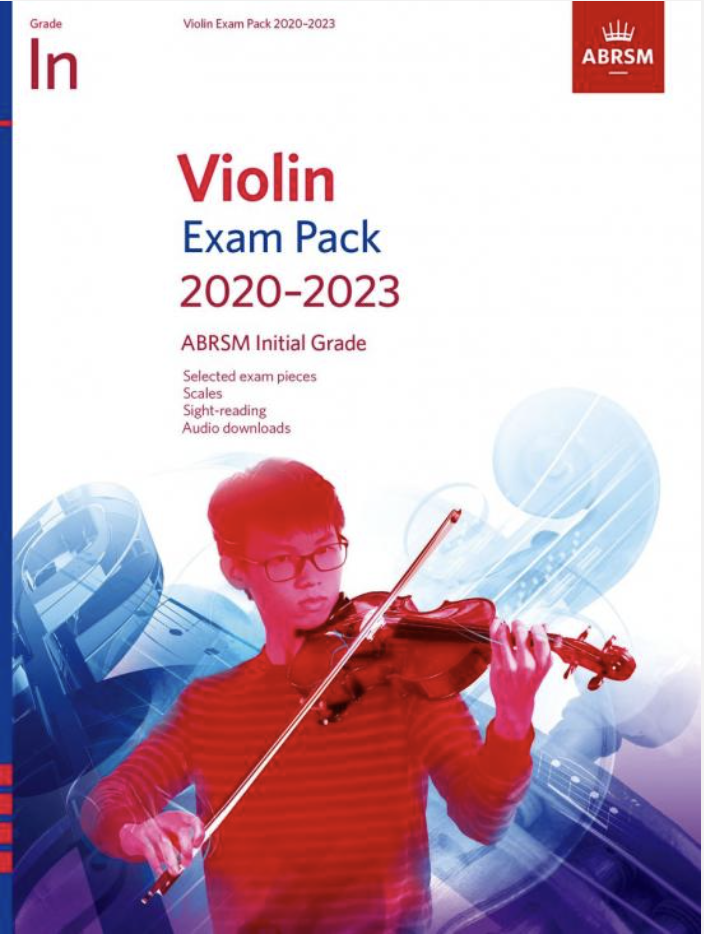 C.F. Peters ABRSM: Violin Exam Pack 2020-2023 Initial Grade