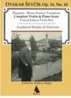 HAL LEONARD Paganini: Moses Fantasy for Violin And Piano With Analytical Studies (violin, piano)