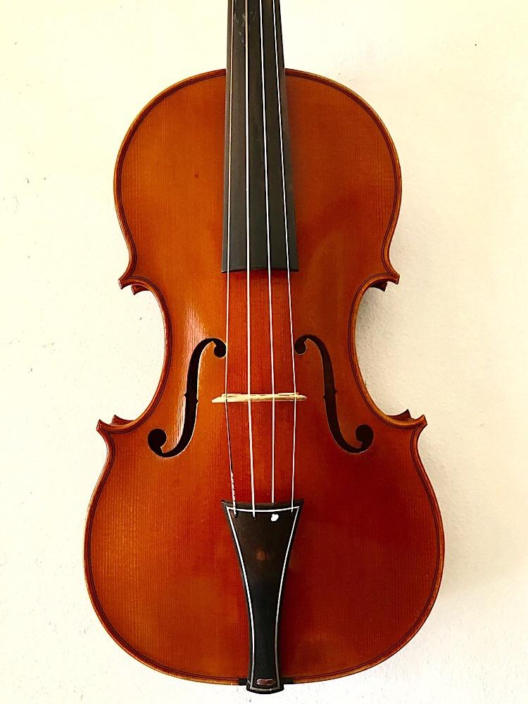 Guy Rabut 1987 baroque-style violin, New York