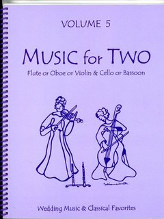 Last Resort Music Publishing Kelley: (collection) Music for Two, Vol. 5 (violin/flute/oboe & cello/bassoon) Last Resort