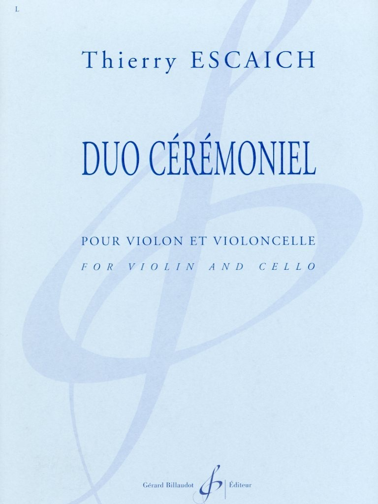 Carl Fischer Escaich: Duo Ceremonial (violin, cello) BILLAUDOT
