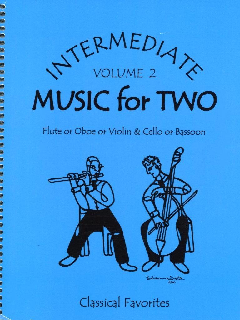 Last Resort Music Publishing Kelley, Daniel: Music for Two Intermediate Vol.2 (Violin & Cello)