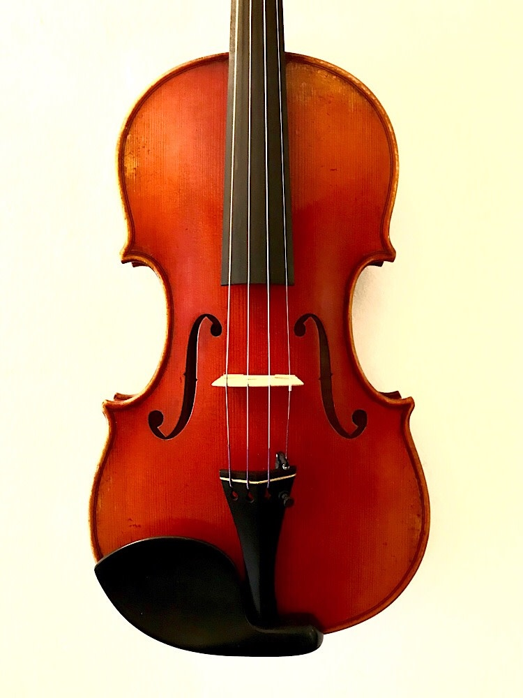 Frederich Wyss 4/4  Strad model violin #703, Germany 2015
