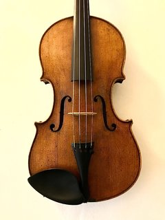 German antiqued used violin, unlabeled 4/4