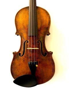 4/4 Joseph Guarnerius copy violin, German, ca. 1910