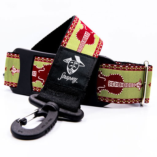 Strapsey Sweetgrass case strap by ''Strapsey''  (sold individually)