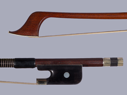 J. Keller French Style bass bow, round