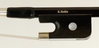 K. Holtz K. Holtz 1/4 fiberglass French-style bass bow with ebony frog and horsehair