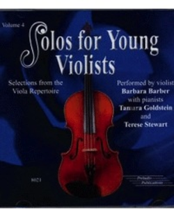 CD Barber: Solos For Young Violists, Vol. 4