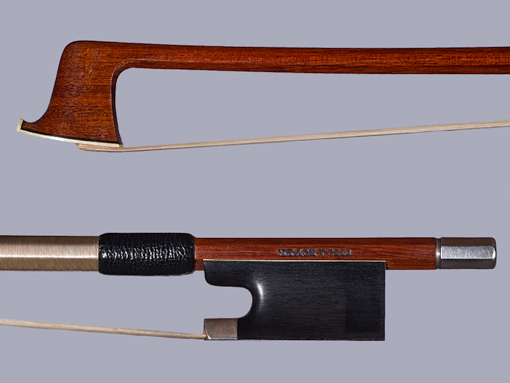 Otto Hoyer silver violin bow, GERMANY S/N 5